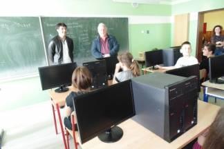 Opremanje informatičke učionice Osnovne škole Vilima Korajca u Kaptolu