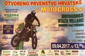 Prvenstvo Hrvatske u motocrossu ove nedjelje na Villarama