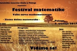 Festival maetematike- Vallis aurea mathematicorum