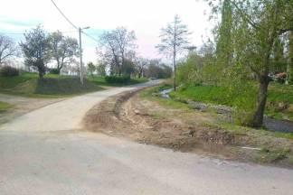 Završeni radovi na sanaciji dijela ceste u Komarovcima
