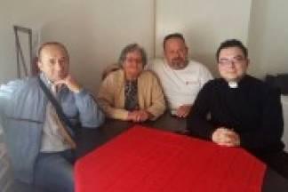 Preduskrsni susret v.d.ravnatelja, djelatnika i volontera Caritasa
