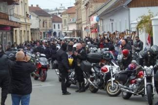 Motociklisti za poginule branitelje