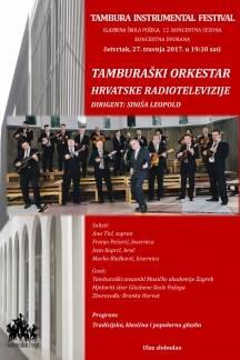Koncert Tamburaškog orkestra HRT-a 27. travnja u Požegi
