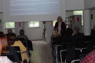 Predavanje dr. Sande Ham na temu ¨Odjeci Deklaraciji o pložaju i nazivu hrvatskog jezika¨