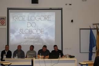 Na VUP-u održana 4. tribina na temu ¨Kroz Logore do slobode¨