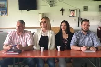 Predstavljanje NL mladih i Mladena Raguža za Općinu Jakšić,u Eminovcima dana 28.04.2017.