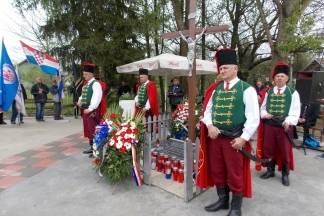 Komemoracija žrtvama 1945. godine u Ruševu