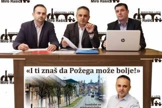 Miro Rašić, mag. oec. – kandidat za gradonačelnika Požege