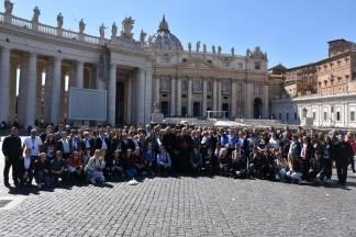 Hodočašće vjenika Požeške biskupije u Rim