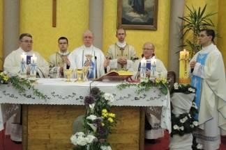 Biskup Škvorčević pohodio svetište Gospe od Brze Pomoći u Sl. Brodu