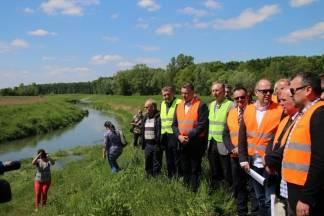 Započela izgradnja mosta Brezine - Janja Lipa