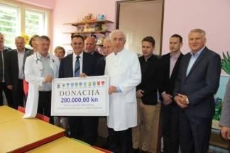 Županija donirala 200 tisuća kuna OŽB Požega za kupnju uređaja na odjelu pedijatrije