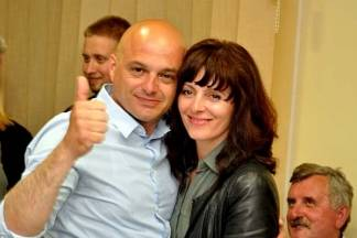 Proslava u HDZ-ovom izbornom stožeru