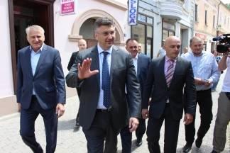 Plenković sutra u Požegi na sastanku Vlade RH sa županima, gradonačelnicima i načelnicima