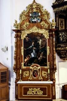 Obnova bočnih oltara u požeškoj katedrali