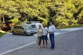 Turisti iz Švicarske prvi gosti novootvorenog kampa ¨Duboka¨