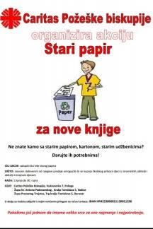 Akcija ¨Stari papir za nove knjige¨