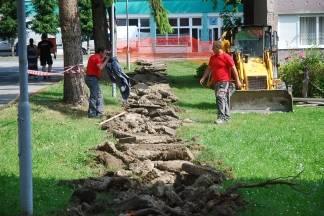 Počelo uređenje pješačke i biciklističke staze i izgradnja nogosupa