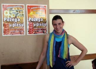 Ilijana Lončar najavljuje Festival malih plesnih formi