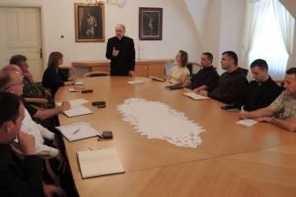 Radni sastanak povjerenika za Pastoral požeške biskupije