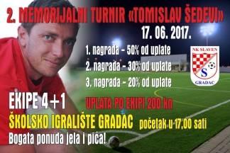 U subotu turnir u sjećanje na velikog čovjeka Tomislava Šedevi