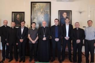Primljeni novi svećenički kandidati