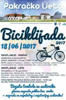 U nedjelju tradicionalna biciklijada Pakrac-Lipik-Pakrac