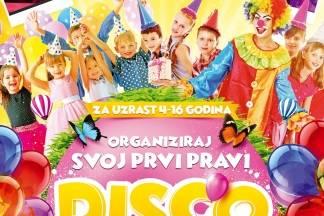 Organiziraj svoj prvi pravi dječji disko rođendan