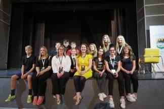 Nastup učenika iz Pleternice na 17. Međunarodnom kazališnom festivalu na njemačkom jeziku
