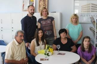 Gradonačelnica Jozić darovala Dariju i Mateju