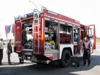 Buran vikend za vatrogasce i hitnu pomoć