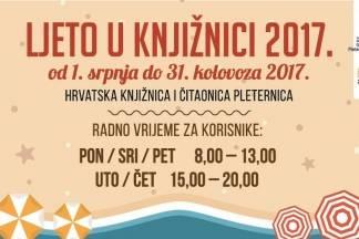 Ljeto u knjižnici u Pleternici