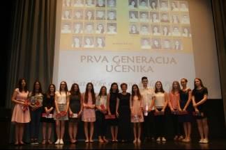 Svečana dodjela svjedodžbi i priznanja prvoj generaciji učenika Katoličke osnovno škole u Požegi