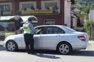 Policija zaustavila 40-godišnjaka s 2,11 promila alkohola u krvi