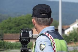 Policija 08. kolovoza pojačano kontrolira brzinu kretanja vozila, vozači oprez !