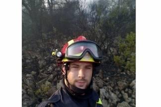 Požare u Splitu gasi i Pleterničanin Marko Dukić