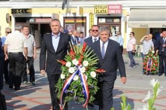 Obilježavanje Dana pobjede i domovinske zahvalnosti i Dana hrvatskih branitelja u Požegi 05.08.2017.