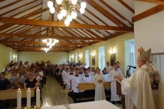Proslava sv. Klare kod požeških klarisa