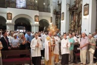 Proslava sv. Roka u Virovitici