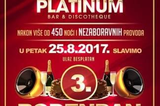 Večeras svi u Platinum na 3. rođendan uz TS Evergreen