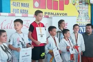 Judo sekcija iz Čaglina na turniru ¨Mala Europa¨