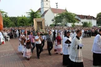 Svečanim euharistijskim slavljem proslavljena Majka Božja Voćinska 21.08.2017.