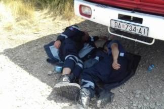 S požara u Dalmaciji: naporan tempo, situacija se mijenja iz sata u sat