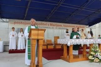 Prvi dan devetnica u Pleternici 23.08.2017.