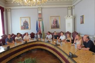Ukrajinski doktori znanosti u posjeti županu Tomaševiću