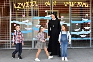 U Novskoj otvorena Katolička osnovna škola