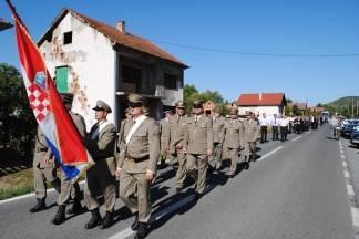 U petak 8. rujna odavanje počasti poginulim bjelovarskim vitezovima