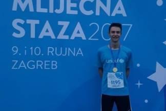 Veličanin Mislav Perić prvi u utrci na 5 km u Zagrebu
