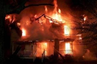 U kupaoni naložio peć na drva pa zapalio kuću…