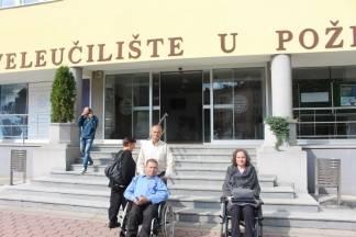 Slonjšak: ¨Veleučilište u Požegi je nepristupačno za osobe s invaliditetom¨